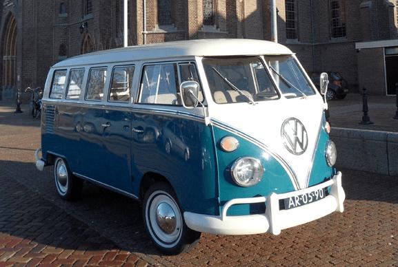 VW busje uitvaart